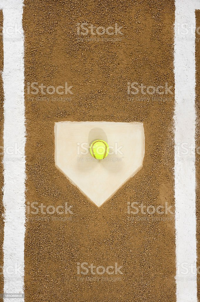 Softball - Play Ball stock photo