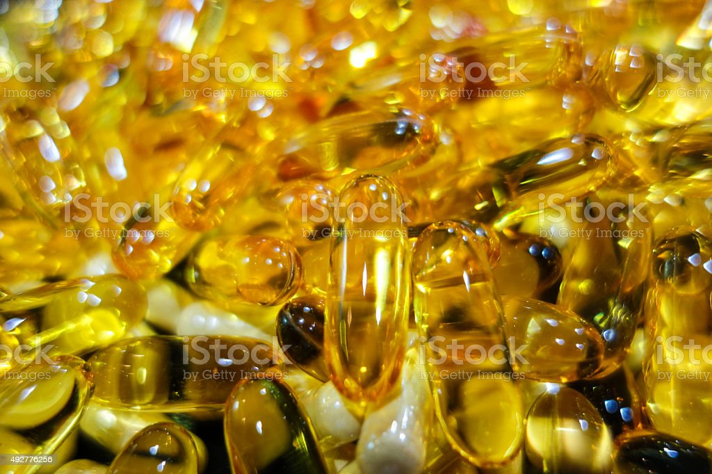 Softgel and Capsule stock photo