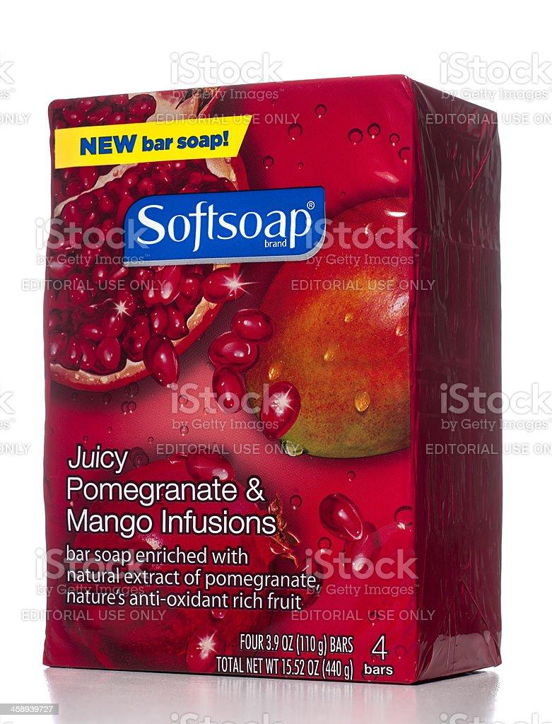 Softsoap Juicy Pomegranate & Mango Infusions stock photo