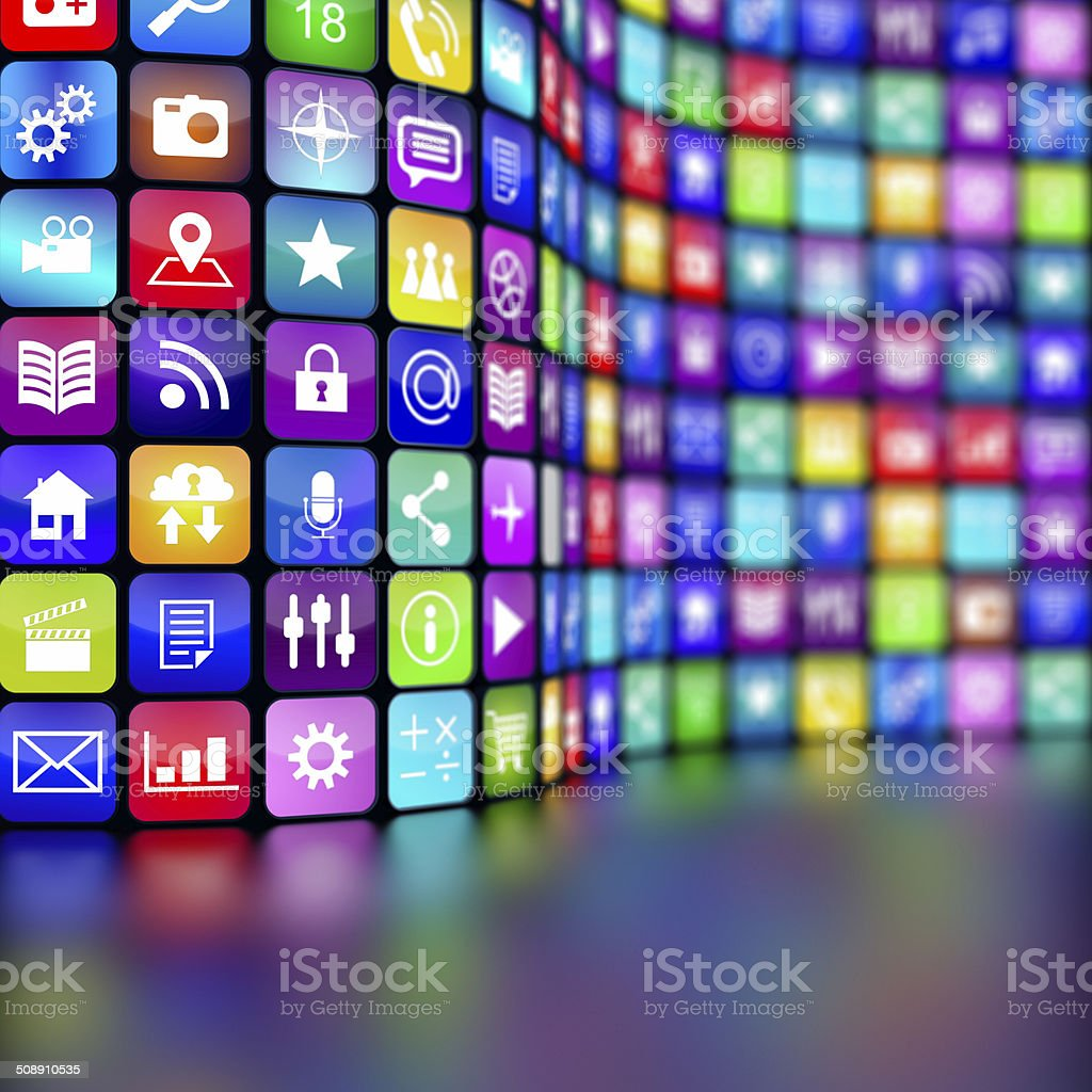 Software Applications stock photo