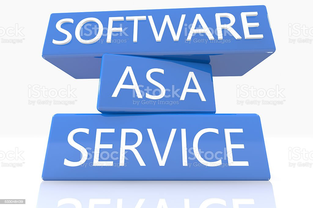 Software as a Service stock photo
