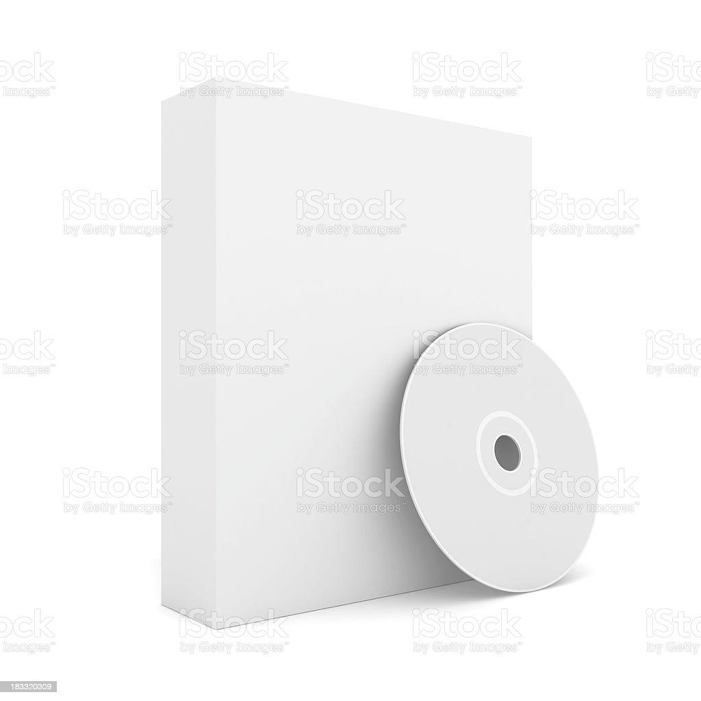 Software Box stock photo