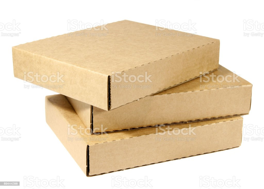 Software boxes stock photo