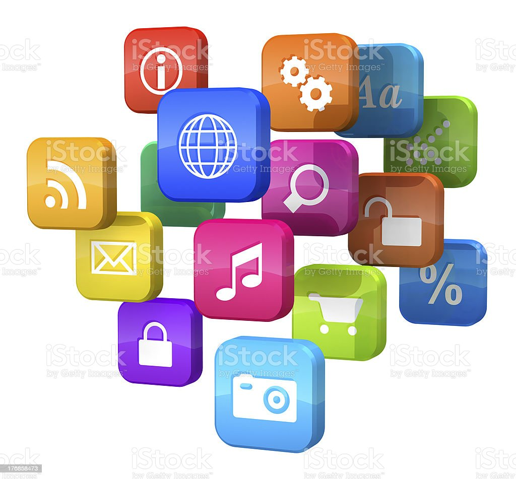 Software concept stock photo