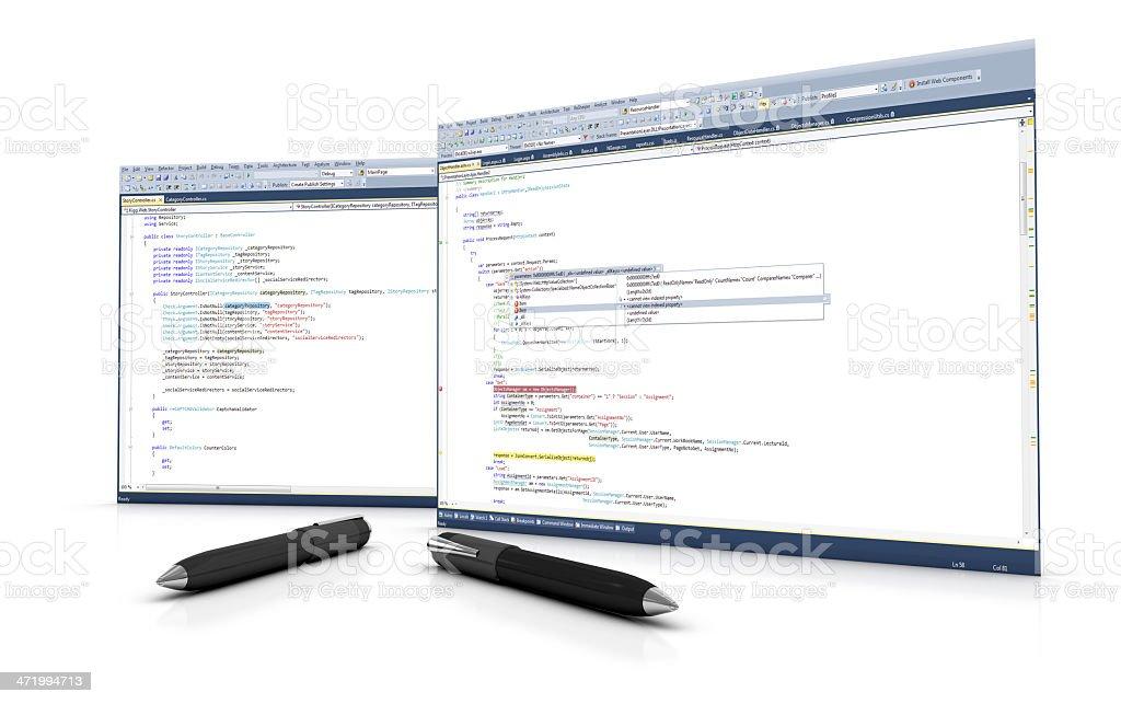 Software Development stock photo