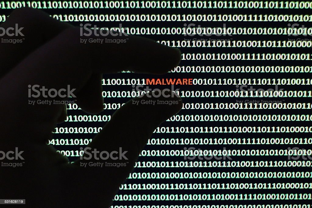 Software Malware stock photo