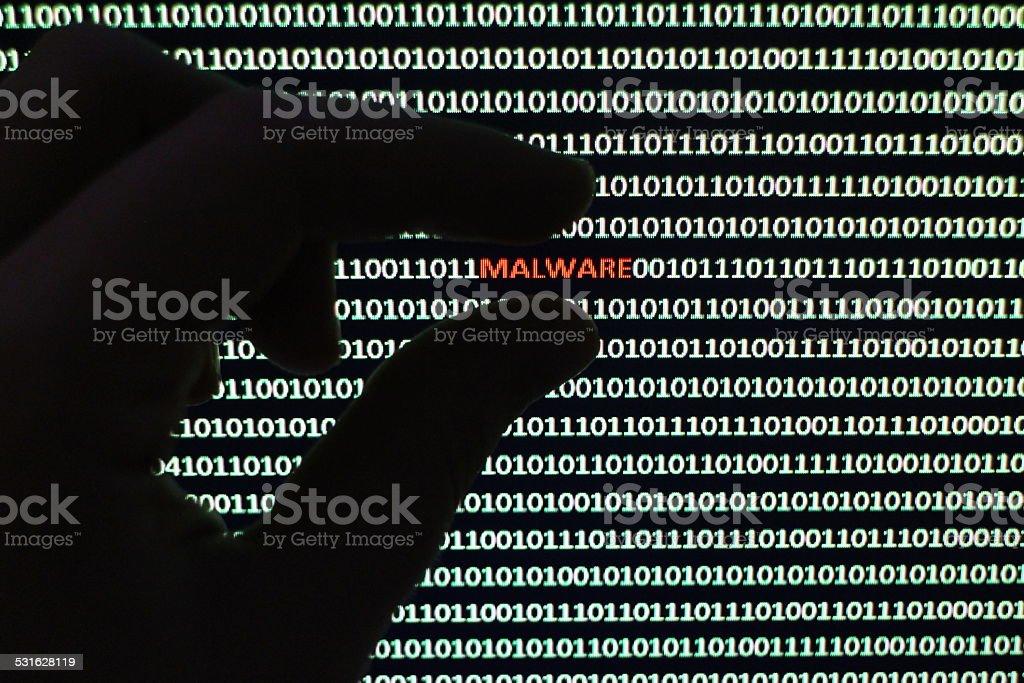 Software Malware stock photo