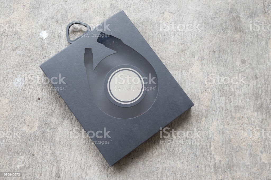 Software package box for your product stock photo