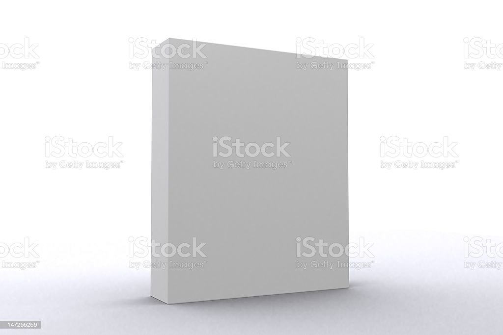 Software Package Box royalty-free stock photo