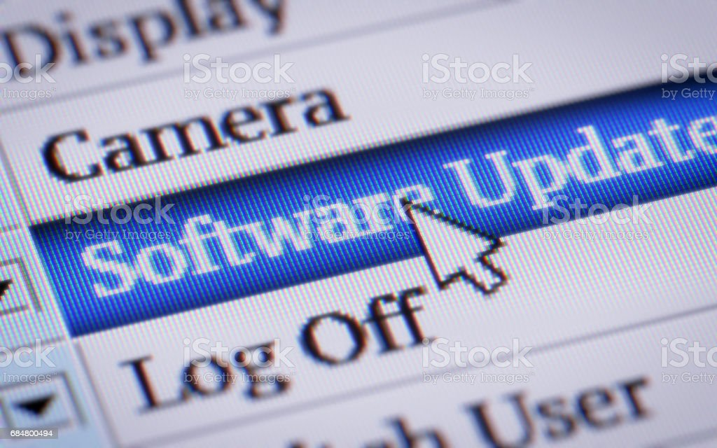 Software Update stock photo