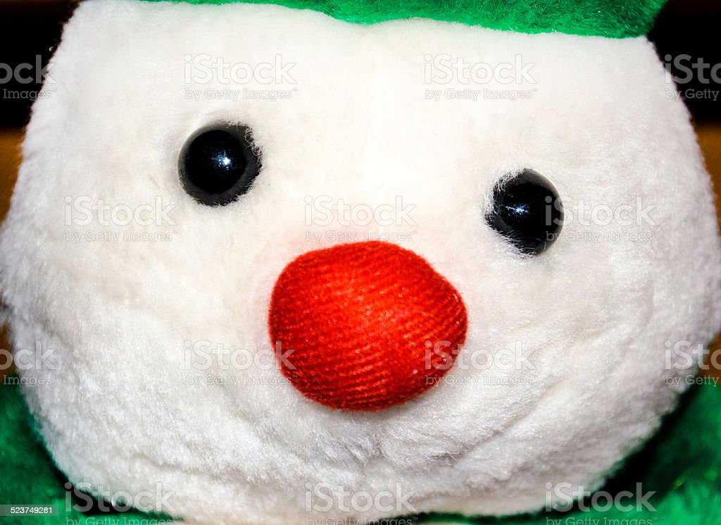 Softy the Snowman stock photo