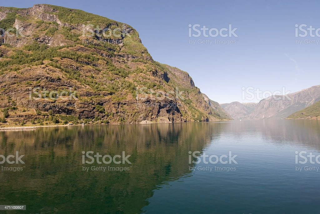 Sognefjord in Norway. royalty-free stock photo