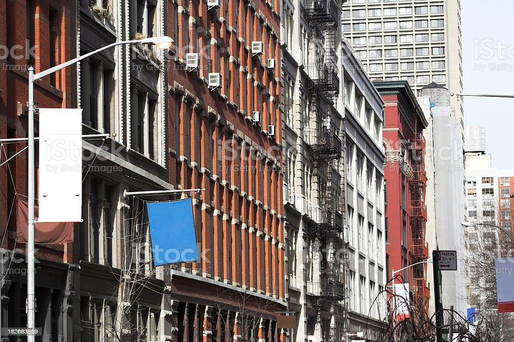 Soho New York stock photo