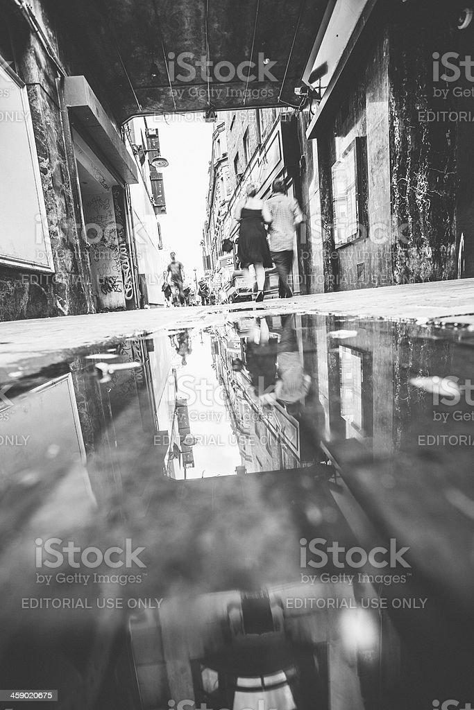 Soho streets royalty-free stock photo