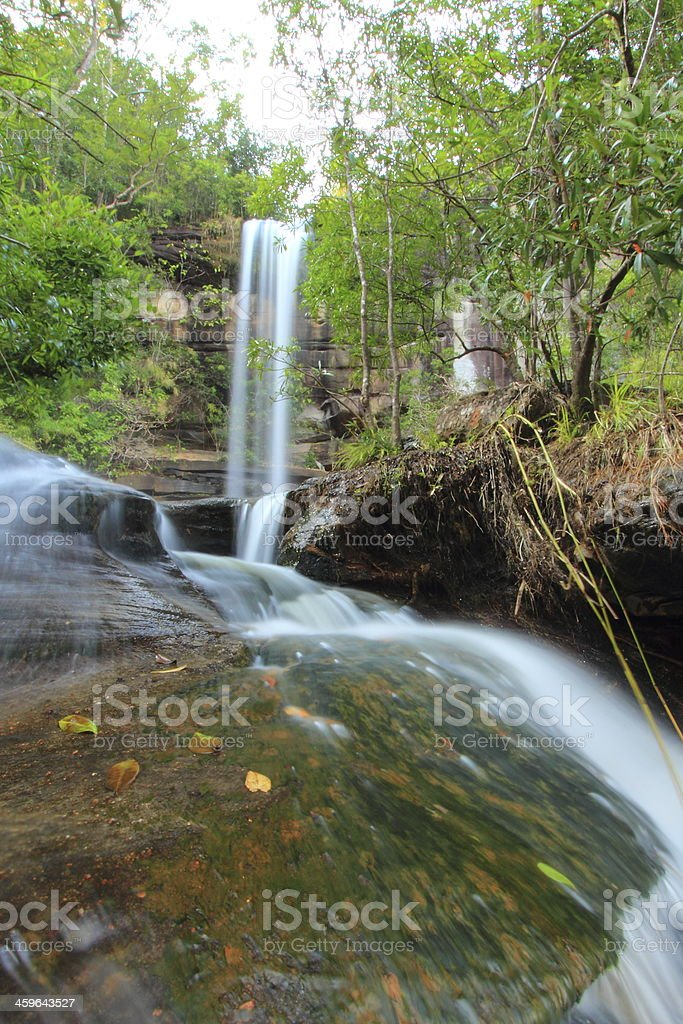 Soi Sawan  Waterfall royalty-free stock photo