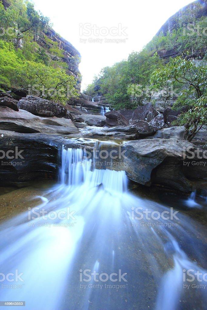 Soi Sawan  Waterfall royalty-free stock photo