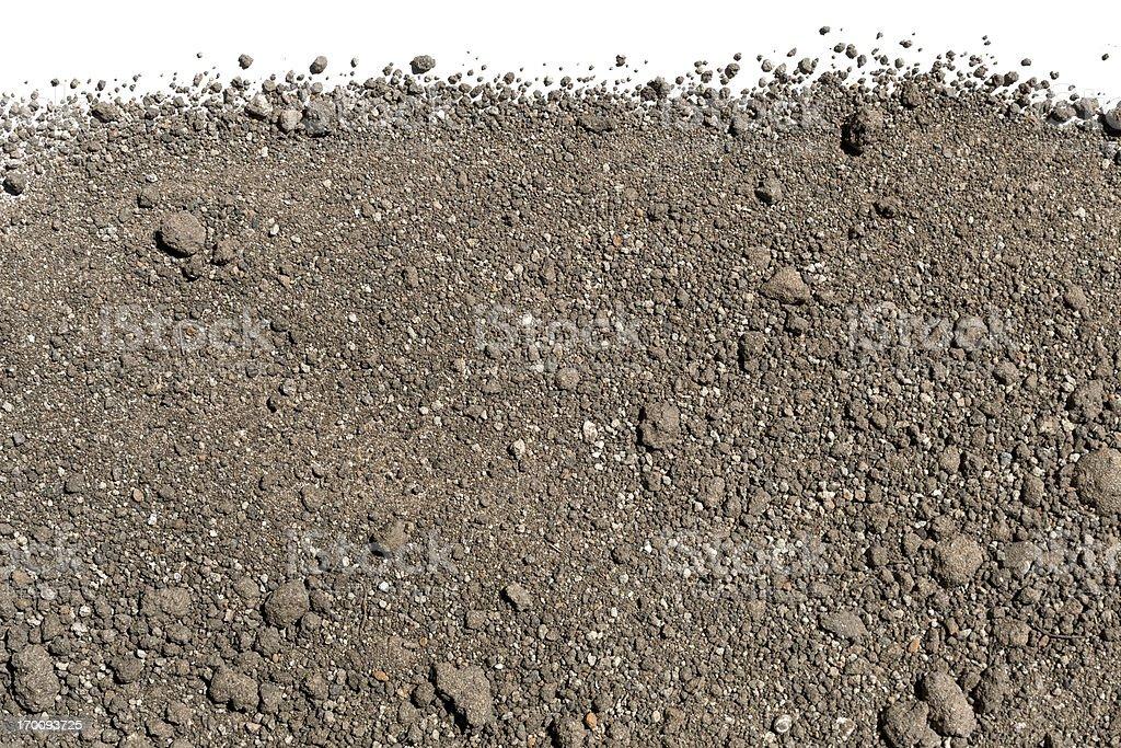 Soil Background royalty-free stock photo
