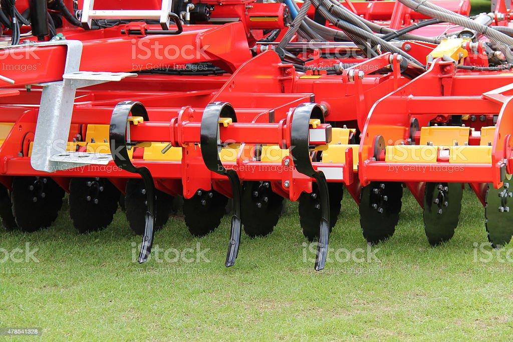 Soil Cultivator. stock photo