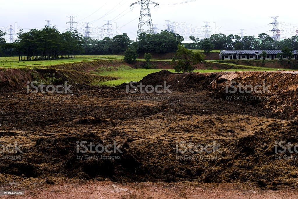 Soil ground stock photo