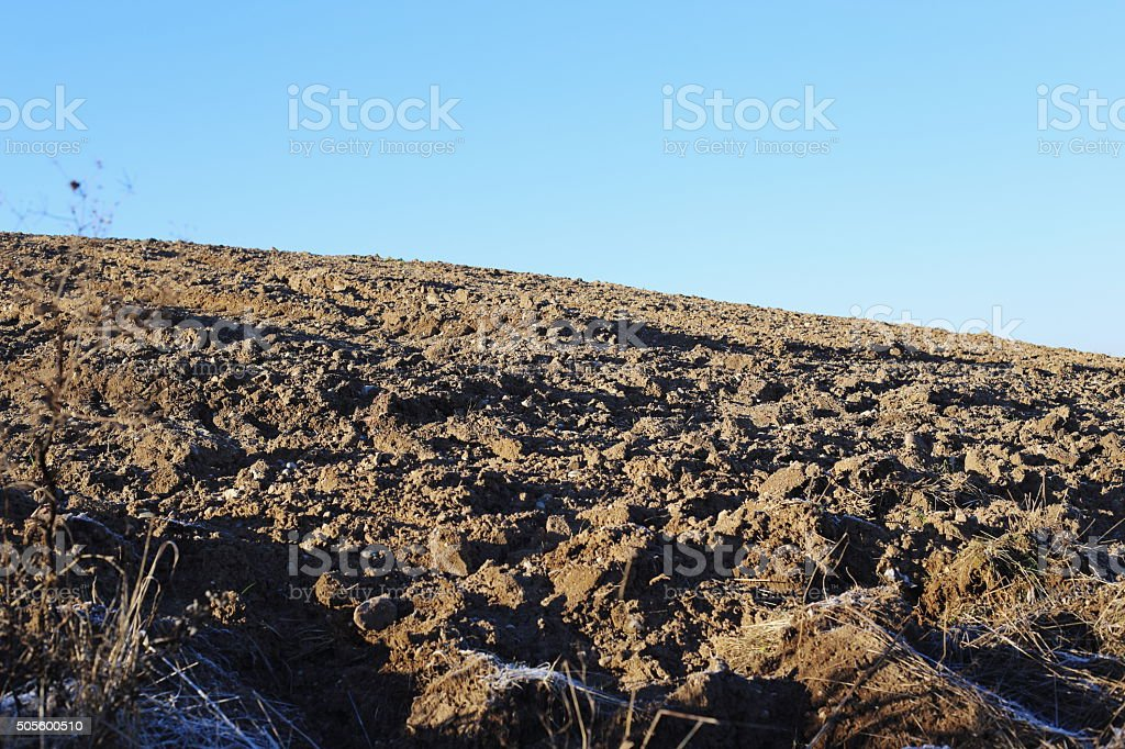 soil hill royalty-free stock photo