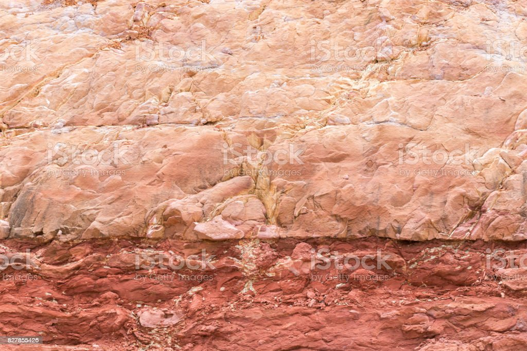 soil layers background stock photo