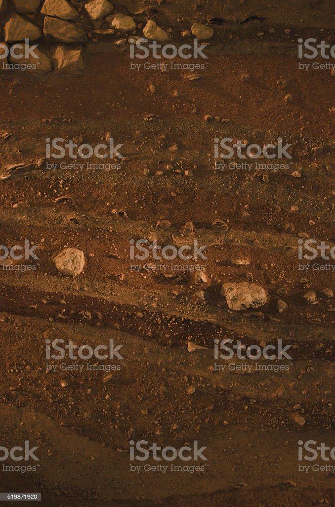 Soil Layers stock photo