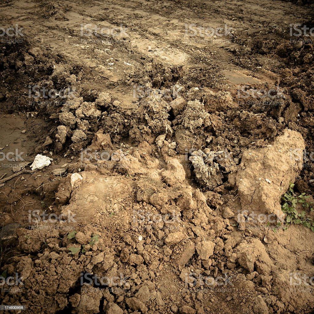 Soil royalty-free stock photo
