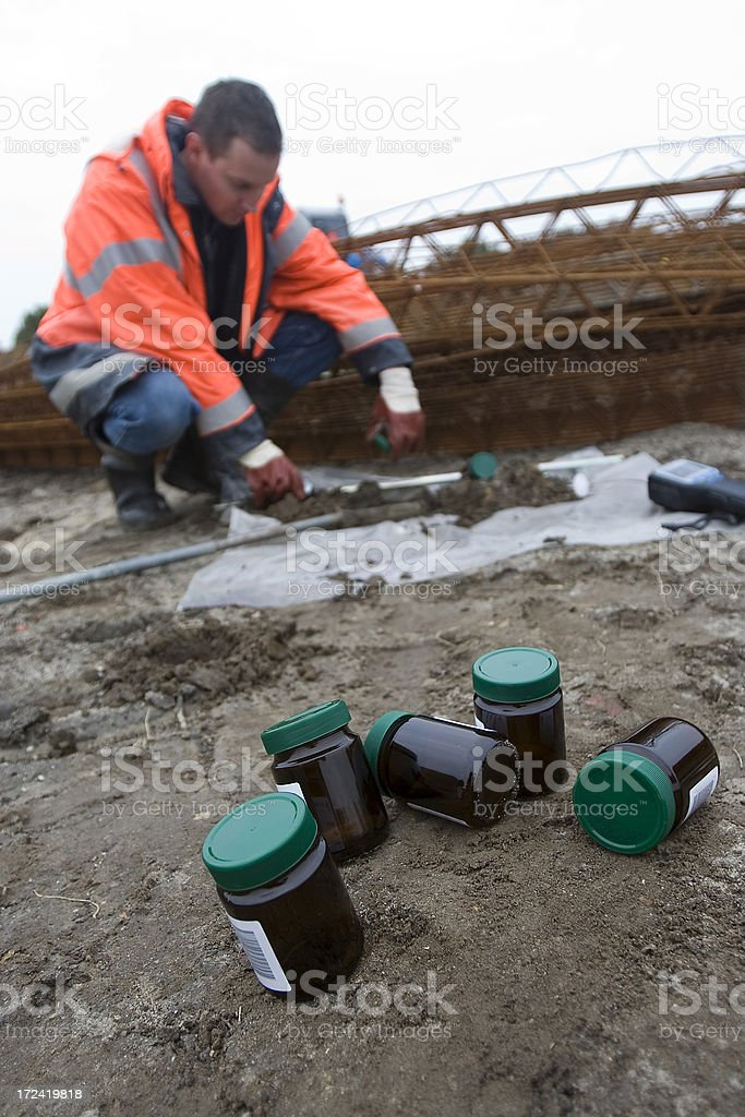 soil research stock photo