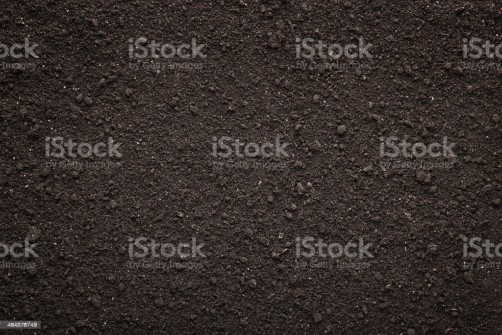 Soil texture background stock photo