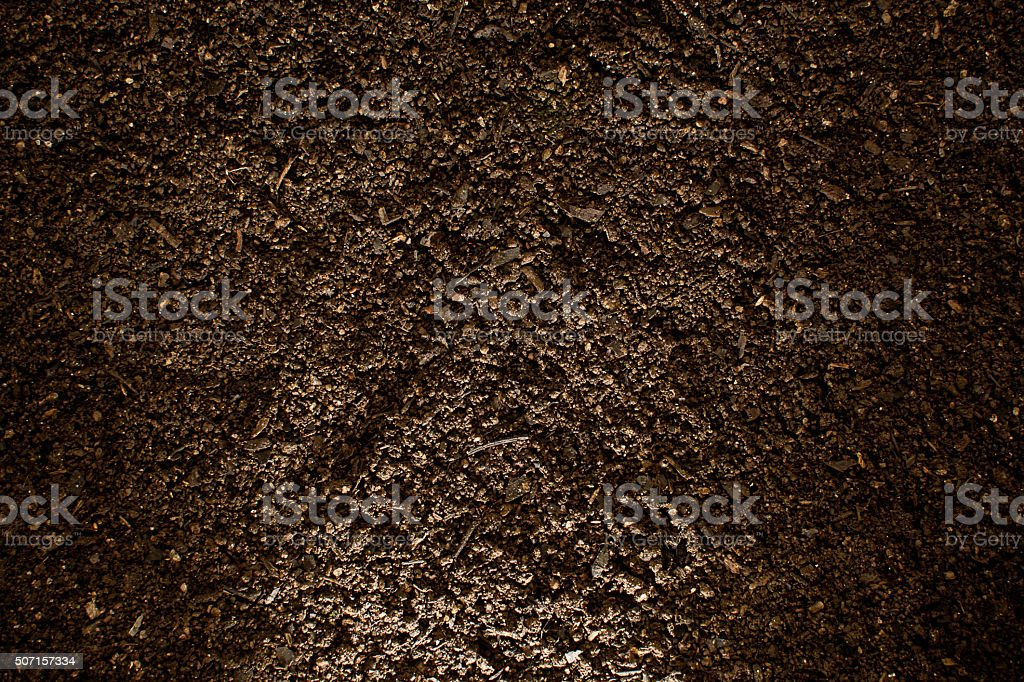Soil texture. stock photo