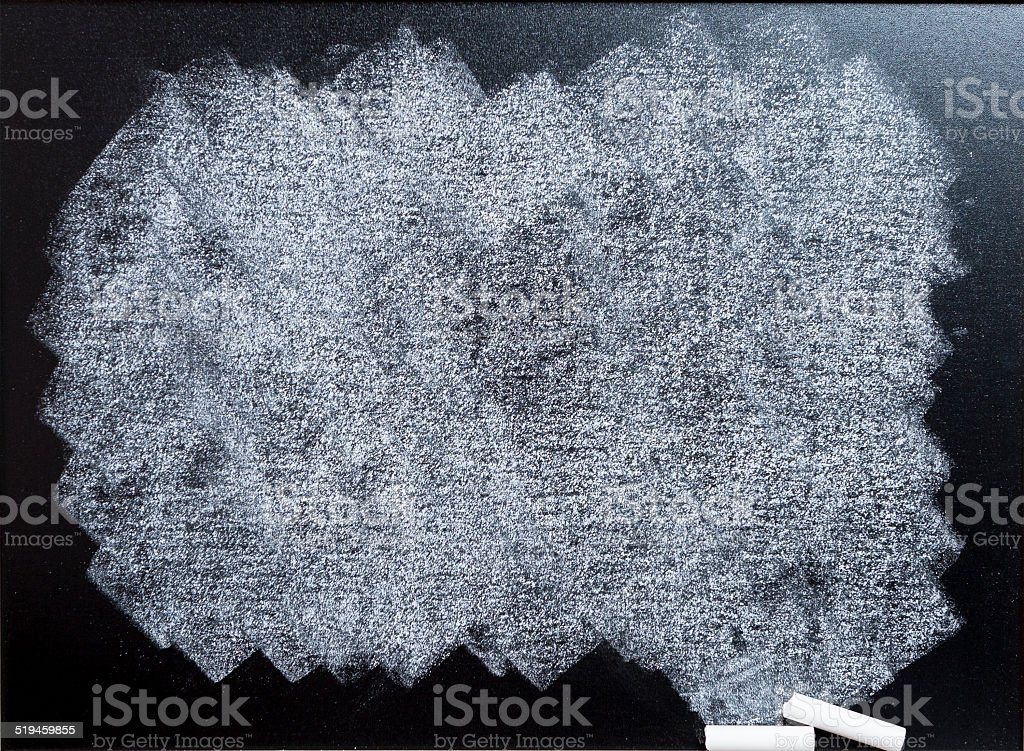 soiled blackboard stock photo