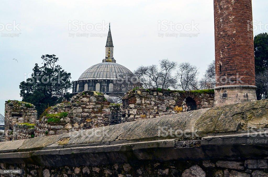 Sokollu Mehmed Pasha Mosque stock photo