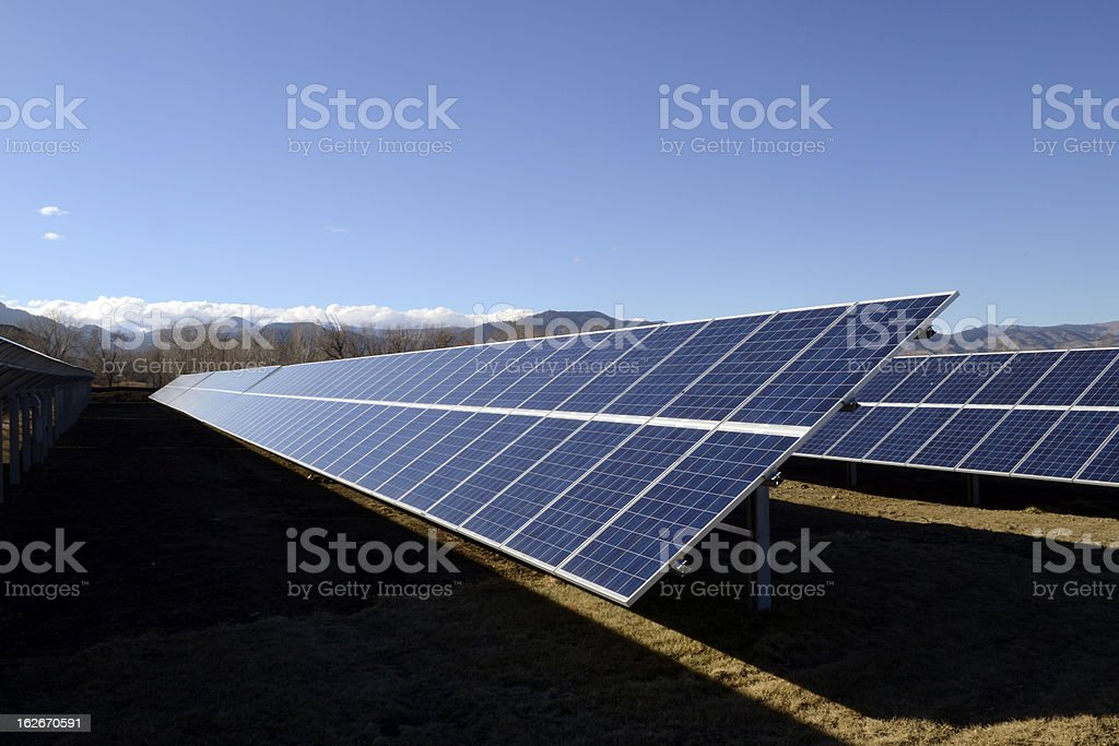 Solar Array royalty-free stock photo
