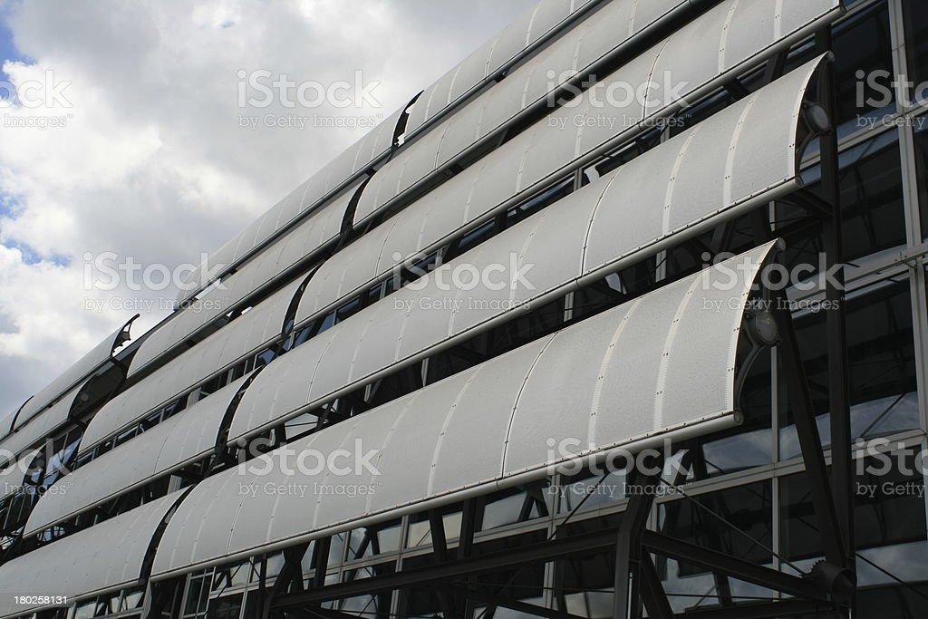 solar array stock photo