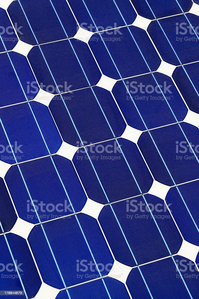 Solar cell battery panel royalty-free stock photo