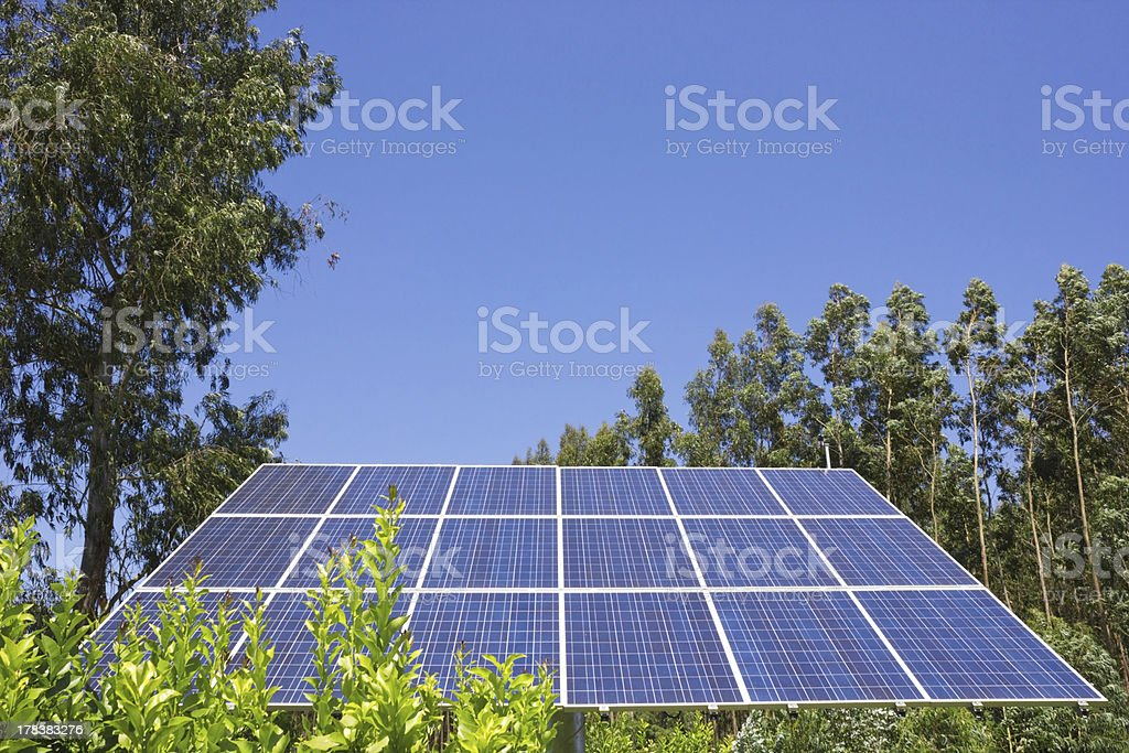 Solar Cell royalty-free stock photo