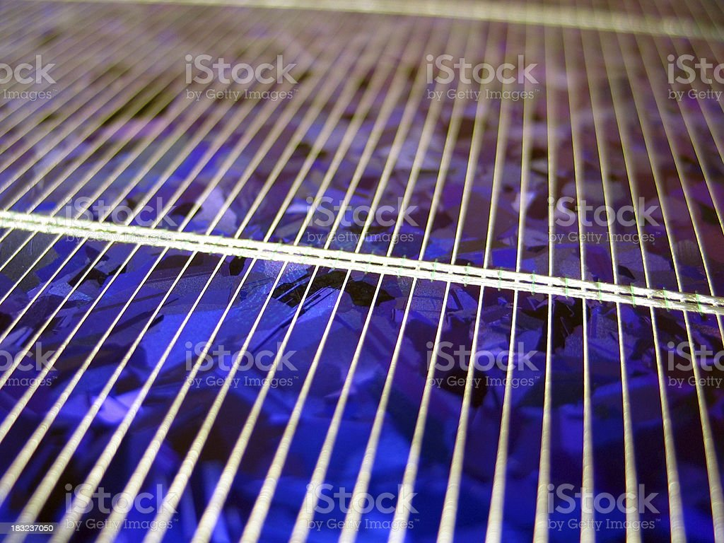 Solar Cell #1 royalty-free stock photo