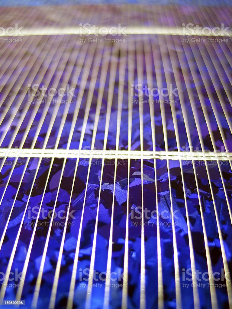 Solar Cell #2 royalty-free stock photo