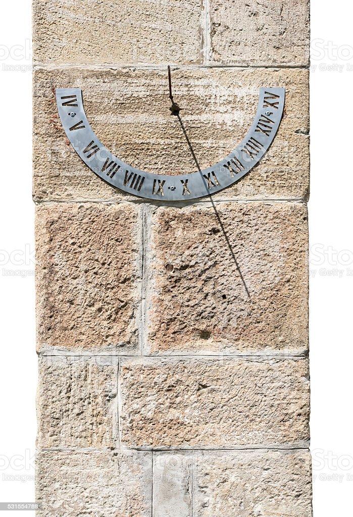 Solar Clock. stock photo