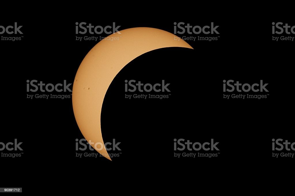 Solar Eclipse 2006 I royalty-free stock photo