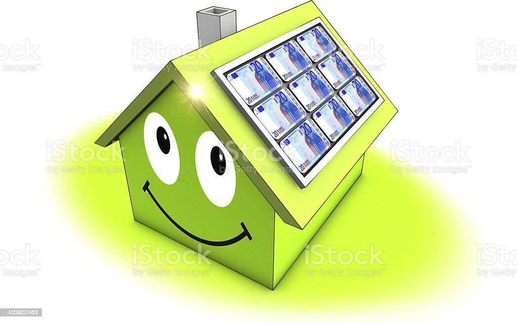 solar energie stock photo
