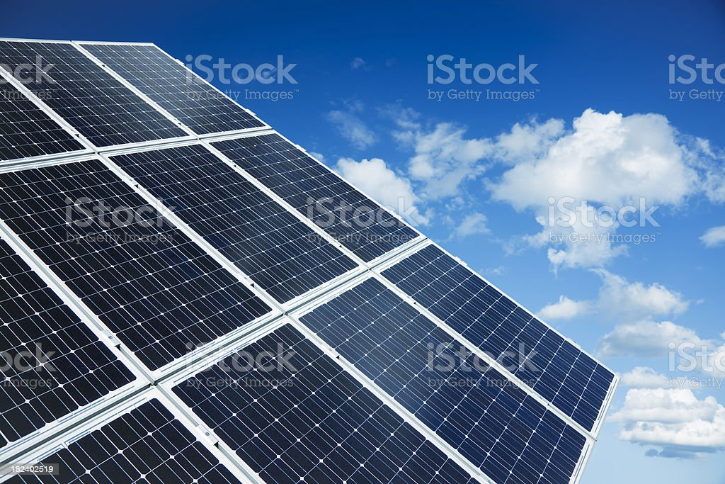 Solar Energy Panel royalty-free stock photo