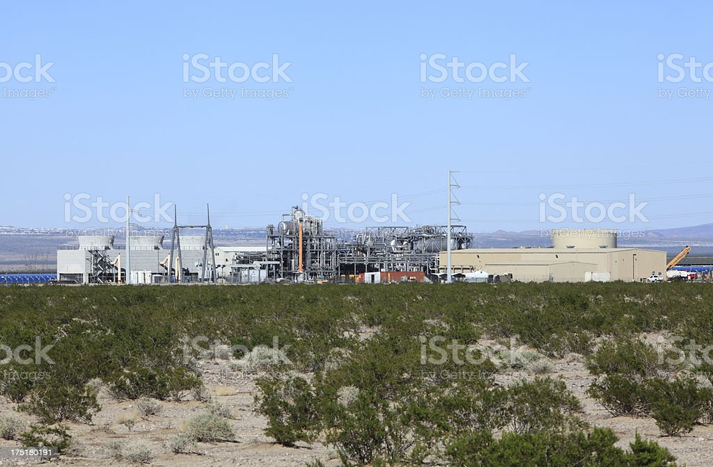 Solar Energy Power Station royalty-free stock photo