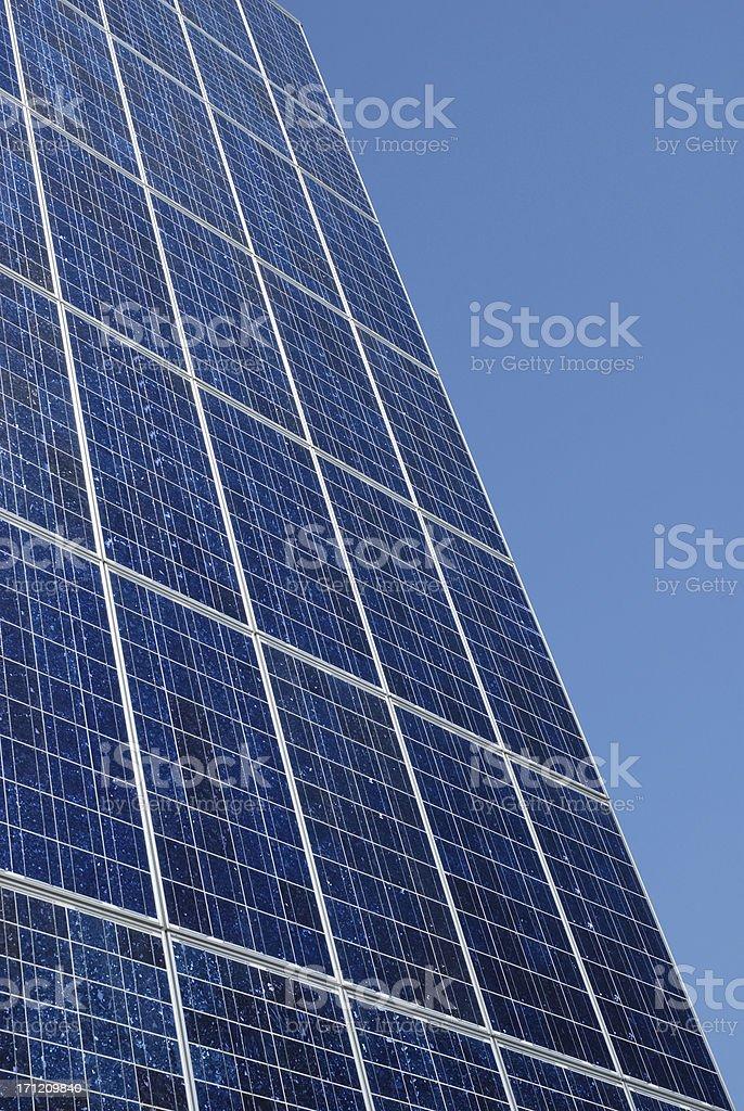 solar facade stock photo