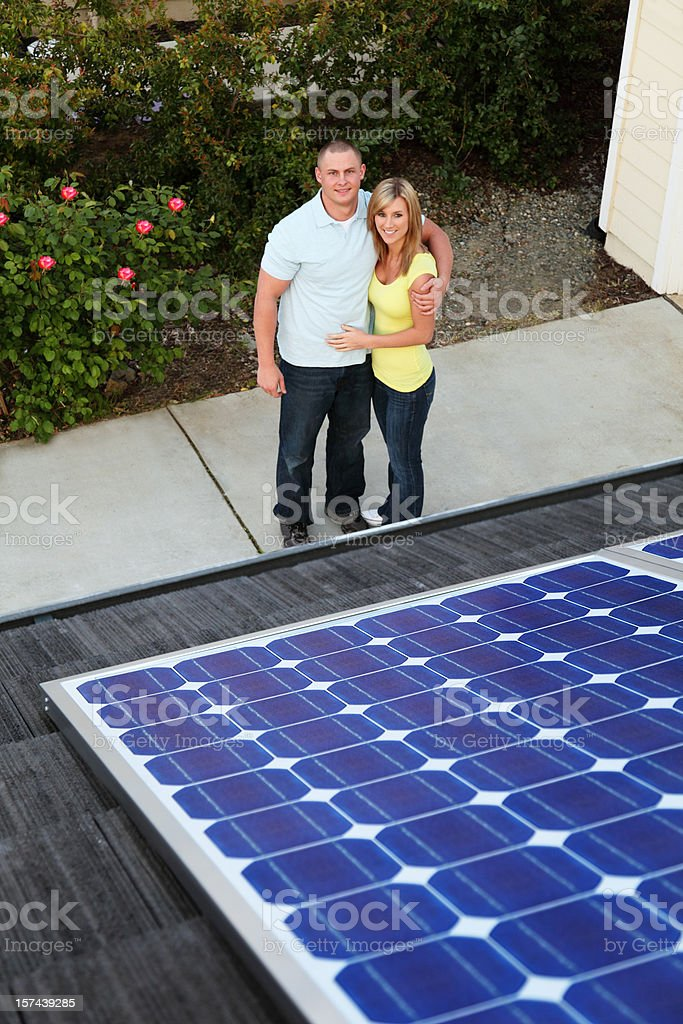 Solar Family stock photo