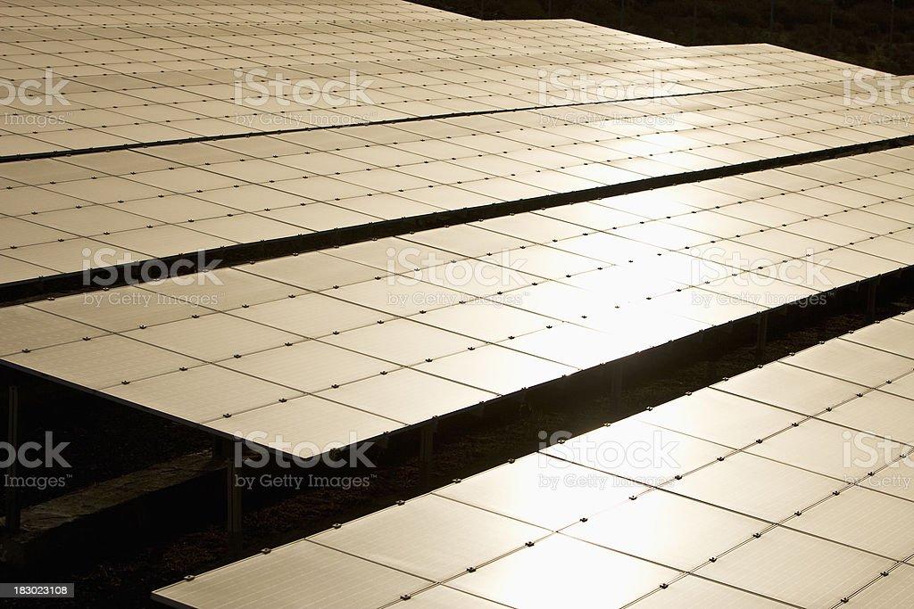 Solar Farm royalty-free stock photo