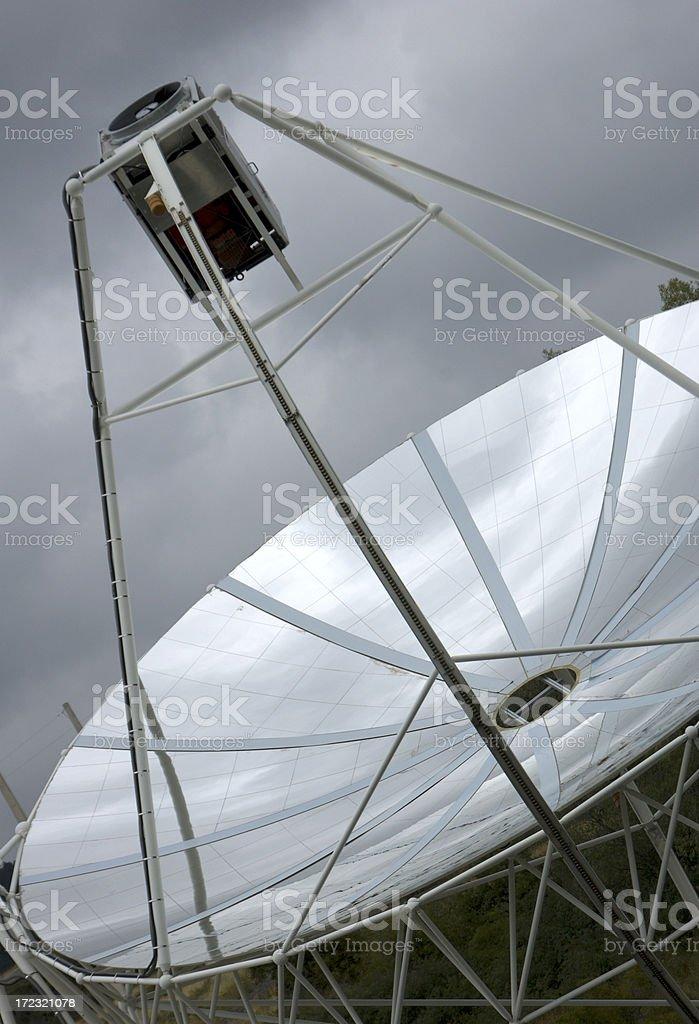 Solar furnace royalty-free stock photo