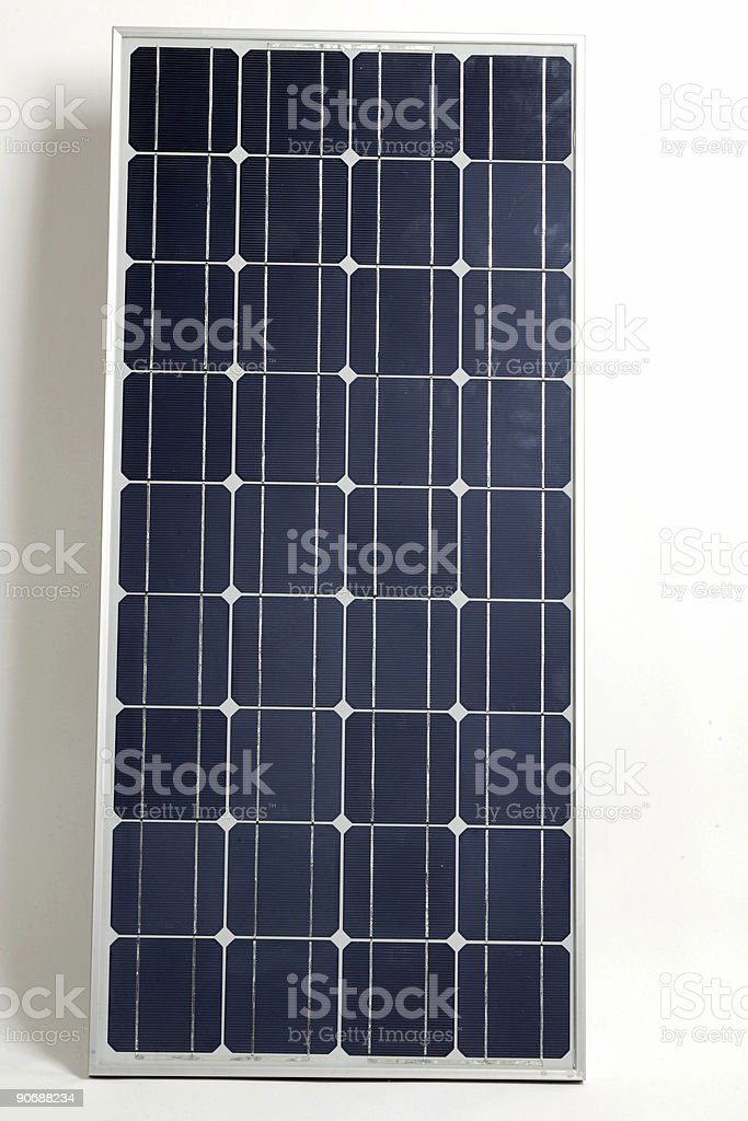 Solar module royalty-free stock photo