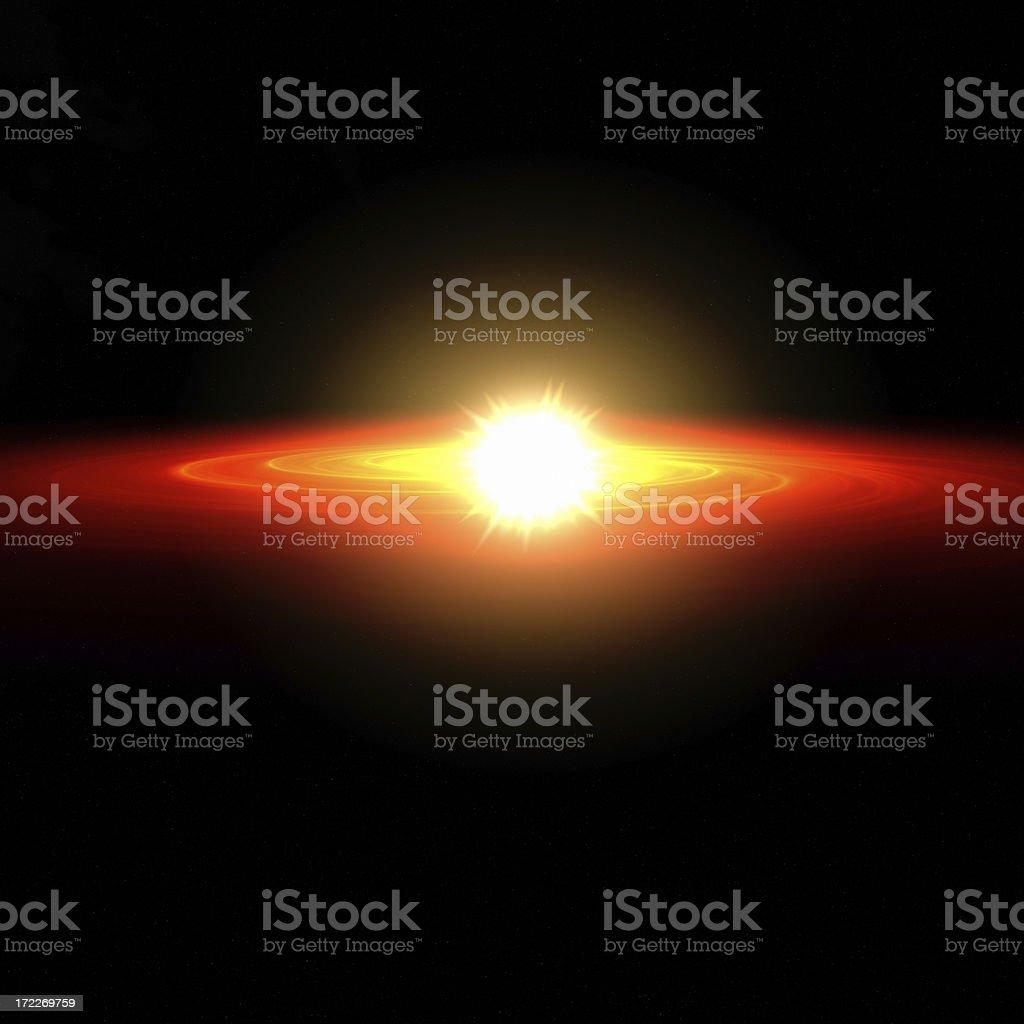 Solar Nebula XXL royalty-free stock photo