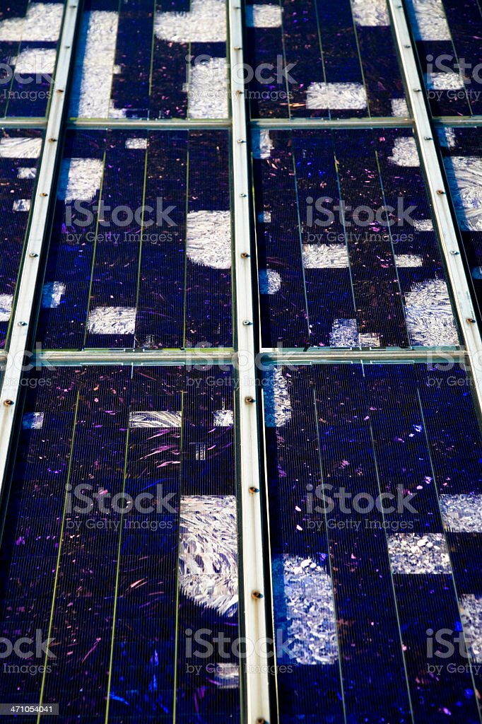 Solar Panel Detail 03 royalty-free stock photo